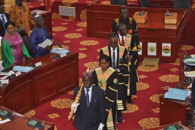 """Résultat de recherche d'images pour """"ghana, parliament, session, 2018, 2019"""""""