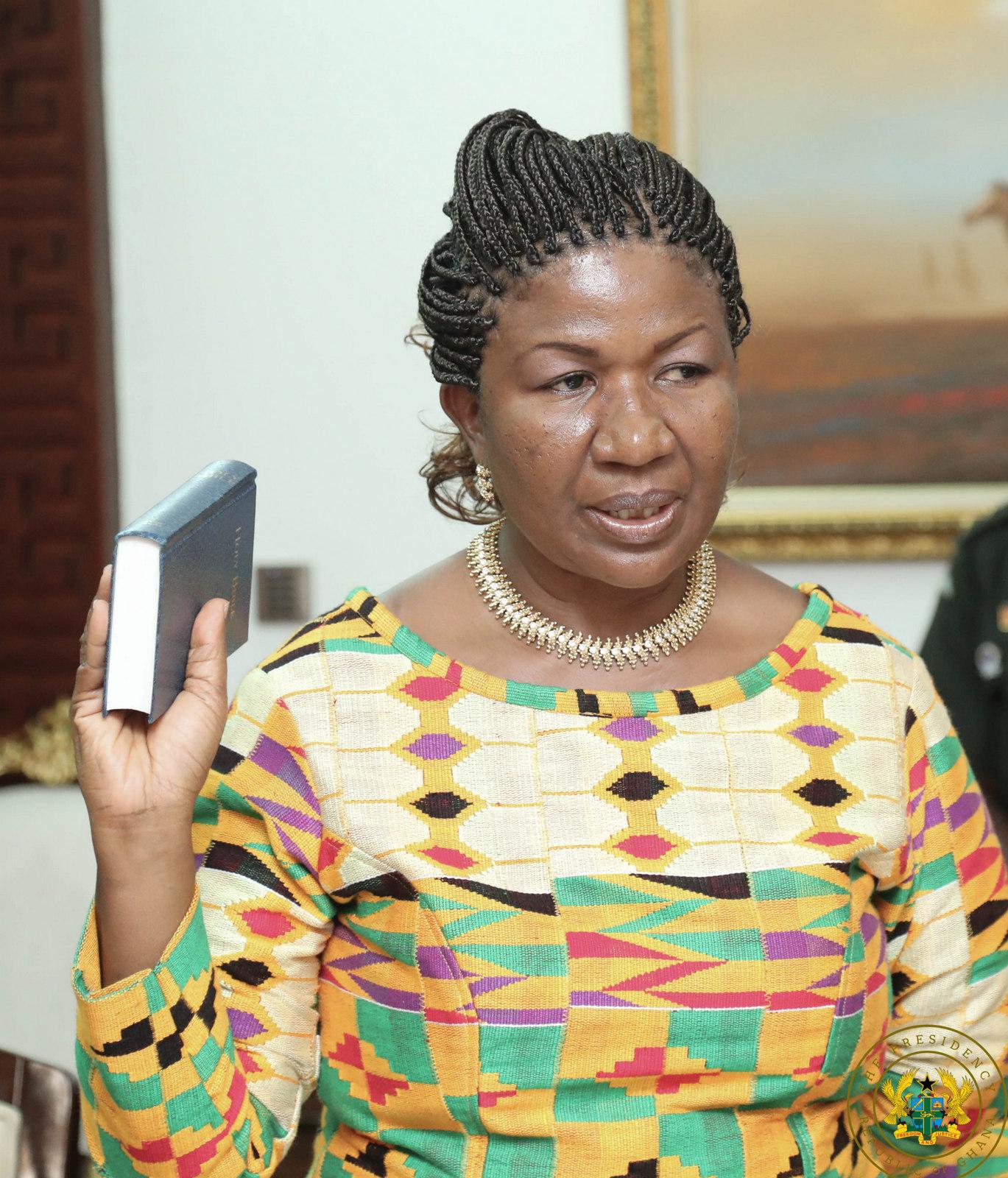 President Akufo-Addo Swears In Ghana's High Commissioner
